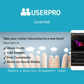 UserPro – Social Wall Add-on