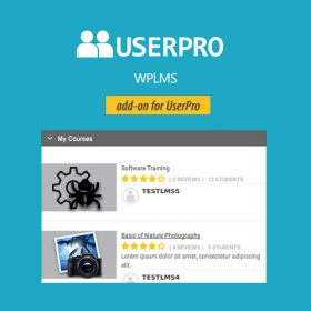 UserPro – WPLMS Integration