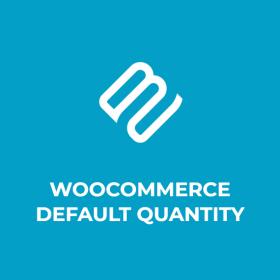 WooCommerce Default Quantity
