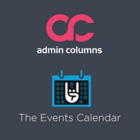 Admin Columns Pro - The Events Calendar add-on