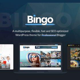 Bingo – Multi-Purpose Newspaper & Magazine Theme