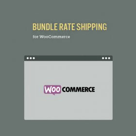 Bundle Rate Shipping Module for WooCommerce