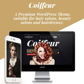 Coiffeur – Hair Salon WordPress Theme