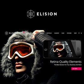 Elision – Retina Multi-Purpose WordPress Theme