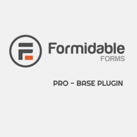 Formidable Forms Pro – WordPress Form Builder