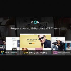 Gon   Responsive Multi-Purpose WordPress Theme