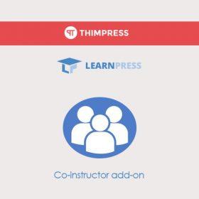 LearnPress Co-instructor Add-on