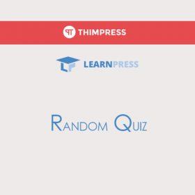 LearnPress Random Quiz Add-on