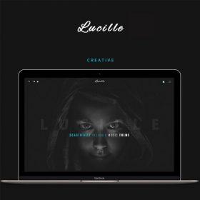 Lucille – Music WordPress Theme