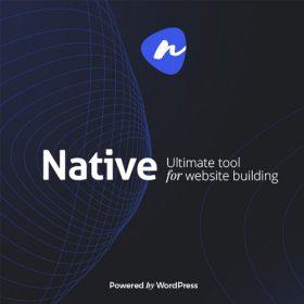 Native – Stylish Multi-Purpose Creative WP Theme