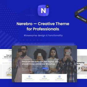 Norebro – Creative Portfolio Theme for Multipurpose Usage
