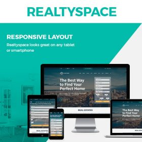 Realtyspace – Real estate WordPress Theme
