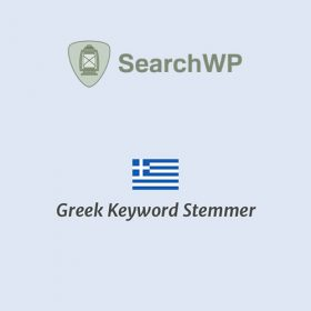 SearchWP Greek Keyword Stemmer