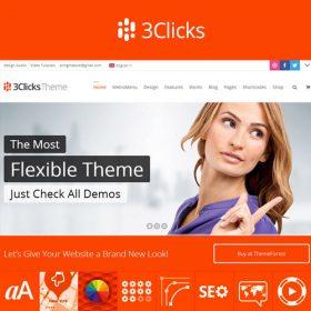 3Clicks   Responsive Multi-Purpose WordPress Theme