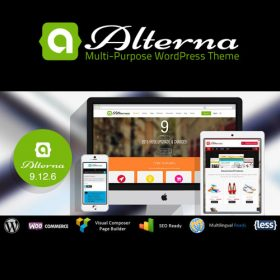 Alterna – Ultra Multi-Purpose WordPress Theme