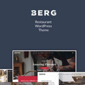 BERG – Restaurant WordPress Theme