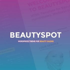 BeautySpot – WordPress Theme for Beauty Salons