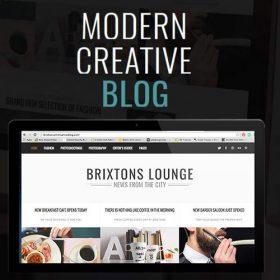 Brixton Blog – A Responsive WordPress Blog Theme