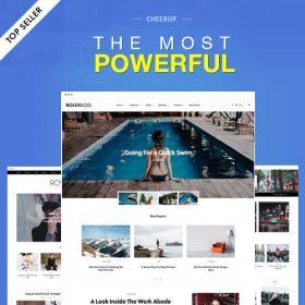 CheerUp Blog / Magazine – WordPress Blog Theme