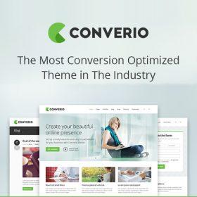 Converio – Responsive Multi-Purpose WordPress Theme