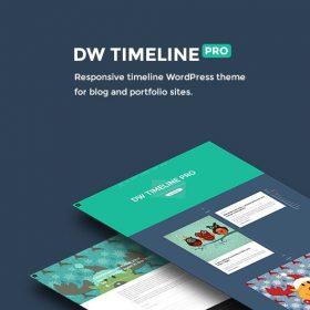 DW Timeline Pro – Responsive Timeline WordPress Theme
