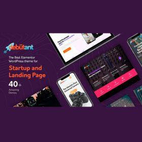 Debutant – Elementor Landing Page WP theme