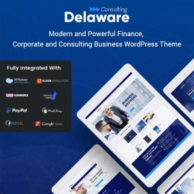 Delaware – Consulting and Finance WordPress Them