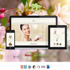 Dream Spa – Salon, Spa WordPress Theme