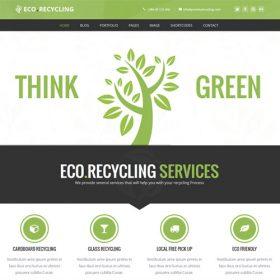 Eco Recycling – Ecology & Nature WordPress Theme