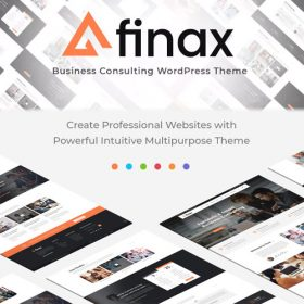 Finax | Responsive Business Consulting WordPress Theme