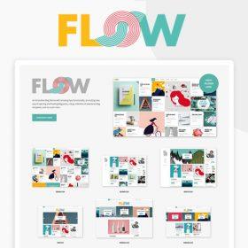 Flow – A Fresh Creative Blog Theme