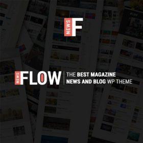 Flow News – Magazine and Blog WordPress Theme