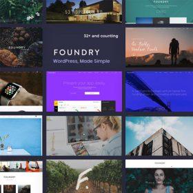 Foundry – Multipurpose, Multi-Concept WP Theme