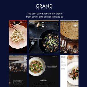 Grand Restaurant Cafe WordPress Theme