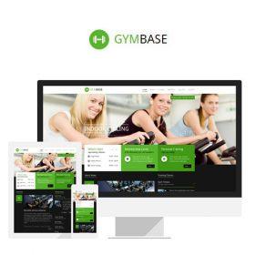 GymBase – Responsive Gym Fitness WordPress Theme