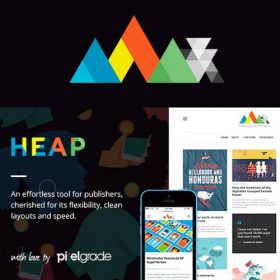 HEAP – A Snappy Responsive WordPress Blog Theme