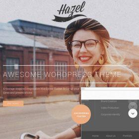 Hazel – Multi-Concept Creative WordPress Theme
