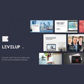 LEVELUP – Responsive Creative Multipurpose WordPress Theme