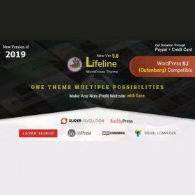 Lifeline – NGO Charity Fund Raising WordPress Theme