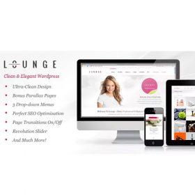 Lounge – Clean Elegant WordPress Theme