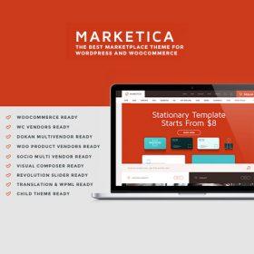Marketica – eCommerce and Marketplace – WooCommerce WordPress Theme