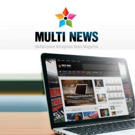 Multinews – Multi-purpose WordPress News,Magazine