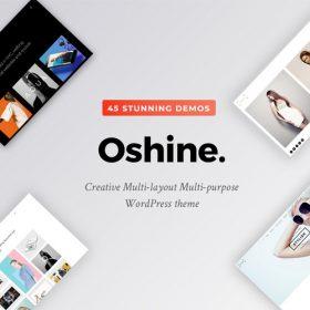 Oshine – Multipurpose Creative Theme