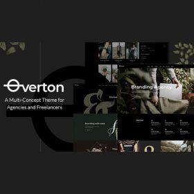 Overton – Creative Theme for Agencies and Freelancers