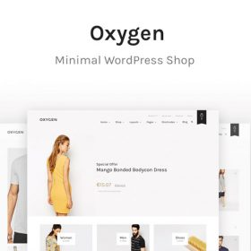 Oxygen – WooCommerce WordPress Theme