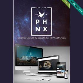 Phoenix – WordPress Minimal Multipurpose Portfolio with Visual Composer