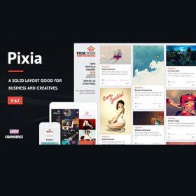 Pixia – Showcase WordPress Theme