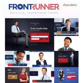 Political WordPress Theme – FrontRunner