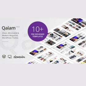 Qalam – NewsPaper and Magazine WordPress Theme