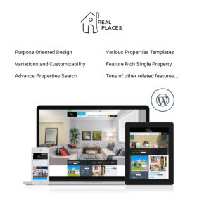 Real Places – Responsive WordPress Real Estate Theme